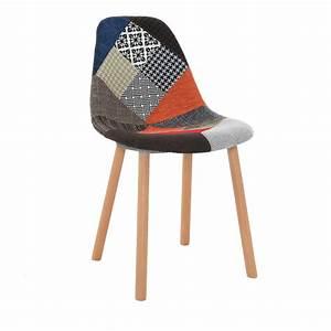 Tabouret De Bar Patchwork : patchwork chaise patchwork chaise shabby chic pouffe stool with wood legs och with patchwork ~ Melissatoandfro.com Idées de Décoration