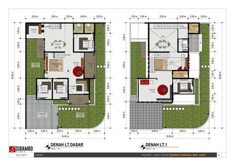 inspirasi desain rumah hook bergaya minimalis modern