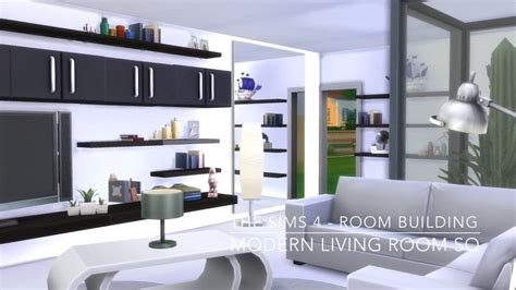 livingroom or living room the sims 4 room building modern living room sq