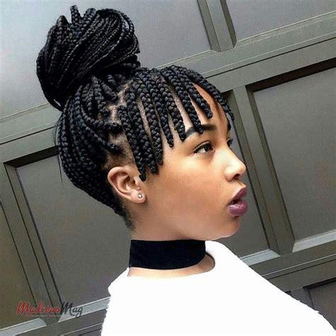 fringe braid boxbraids cool braid hairstyles african