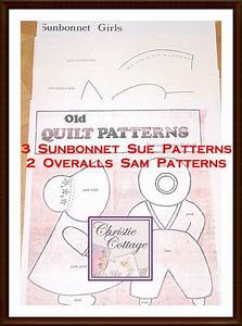 create your own christmas cards free printable sunbonnet sue and overall sam quilt pattern vintage 5 patterns