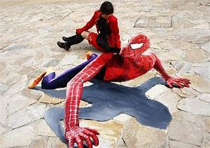 3D Street Painting: More 3D Paintings