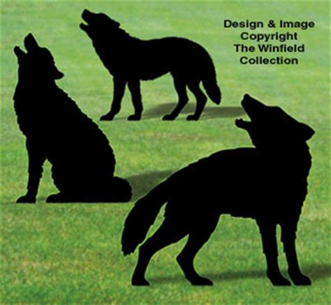 animals life size wolf shadows wood pattern
