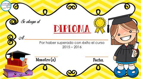 diplomas para mamas de preescolar diplomas para nuestros alumnos 7 imagenes educativas