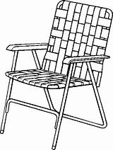 Chair Coloring Drawing Lawn Folding Clipart Patio Chairs Furniture Clip Lawnchair Camping Line Cliparts Printable Clipartmag Iron Armchair Canada Colorings sketch template