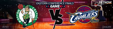 Boston Celtics vs. Cleveland Cavaliers Game 4 Betting Odds ...
