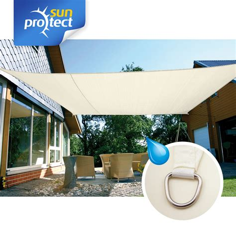 Sunprotect Sonnensegel Waterproof, 6 X 4 M, Rechteck
