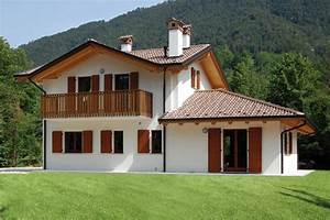 Case A Due Piani In Montagna