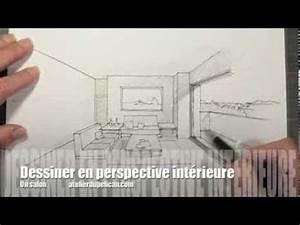 dessiner en perspective interieure youtube With dessiner maison en 3d 2 interieur maison en perspective