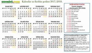 Odluka o početku i završetku nastavne godine 20172018