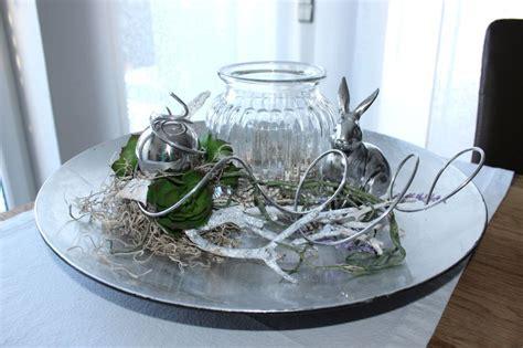 Exclusive Tischdeko! Silberfarbene Schale