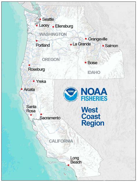 noaa fisheries announces new west coast region northwest