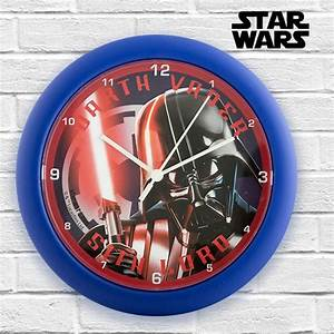Star Wars Wanduhr : star wars reloj de pared disney you like it ~ Frokenaadalensverden.com Haus und Dekorationen