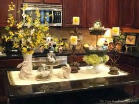 kitchen island decorating kitchen - Kitchen Island Decorations