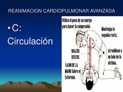 ppt reanimacion cardiopulmonar avanzada powerpoint