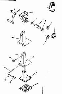 Rival Model 303 Grinder Kitchen Equipment Genuine Parts