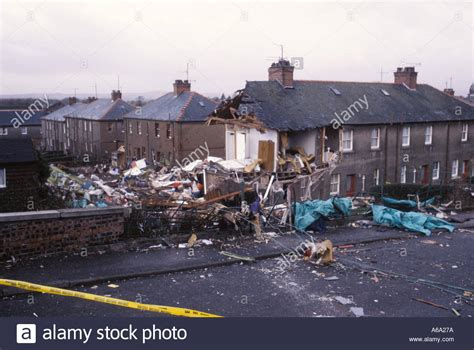 Lockerbie The Day After Panam 103 Crashed On The Village