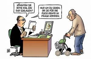 Flexi Rente Rechenbeispiel : flexi rente von harm bengen politik cartoon toonpool ~ Lizthompson.info Haus und Dekorationen