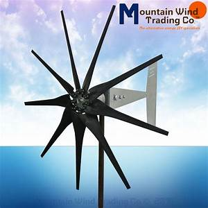Freedom Ii 12  24 Volt 2000 Watt Max 9 Blade Wind Turbine