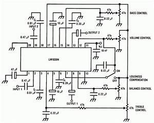 Tone Kontrol Menggunakan Lm1035n