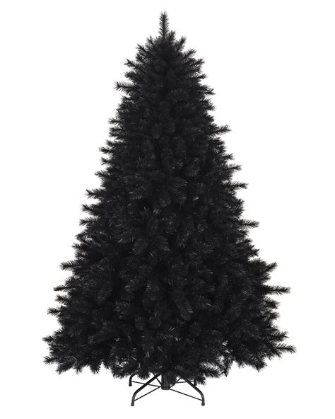 black and christmas tree pitch black artificial christmas pine trees treetopia