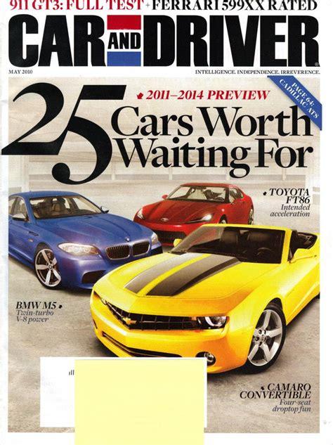 Car & Driver Magazine Cover  Forum Topic Tune86