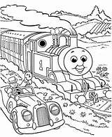Coloring Pages Printable Thomas Train Colouring Sheets Tank Engine Friends sketch template