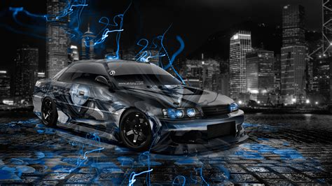 Anime Jdm Wallpaper by Toyota Chaser Jzx100 Jdm Anime Aerography City Car 2014