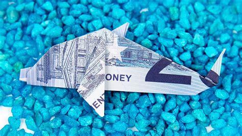 fische aus geld basteln geldschein falten fisch origami delfin aus geld falten anleitung in 4k