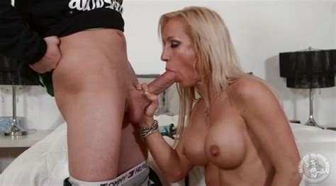 mom with sexy implants gives a hot blowjob alpha porno
