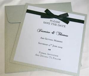 custom made creations b studio wedding invitations With images of save the date wedding invitations