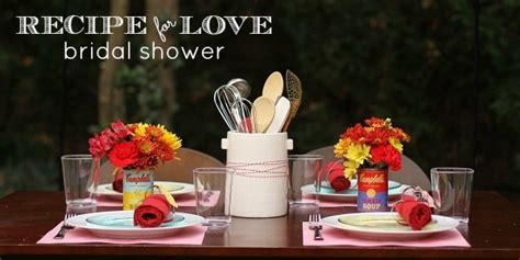 """Recipe For Love"" Kitchen themed Bridal Shower"