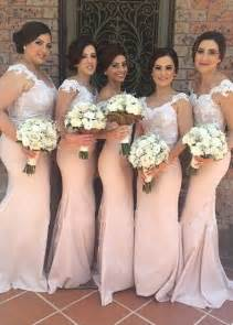 oversized bridesmaid shirts mermaid lace bridesmaid dresses pink sweetheart shoulder court of honor dresses