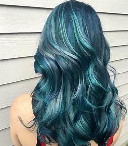 Haare Blondieren Natürlich : blaue haare wie der ozean der neue haarfarben trend ~ Frokenaadalensverden.com Haus und Dekorationen