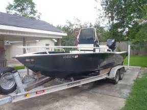 Aluminum Boats For Sale Louisiana Sportsman by 2003 Gaudet Custom Aluminum Boat Bay Boat For Sale In