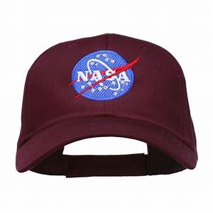 Embroidered Cap - Khaki NASA Insignia Embroidered Cap ...