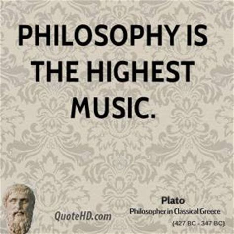 greek philosophers quotes on music