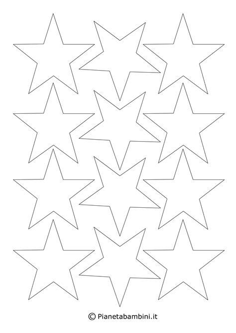 disegni  stelle da stampare colorare  ritagliare