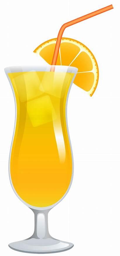 Cocktail Clipart Screwdriver Drinks Clip Transparent Cocktails