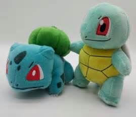 New 2016 Pokemon Bulbasaur Squirtle Plush Stuffed Doll