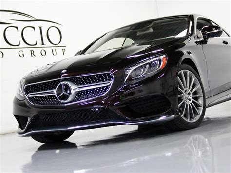 The s63 4matic coupe and sedan rate 15/23/18 mpg; 2015 Mercedes Benz S550 4Matic Coupe
