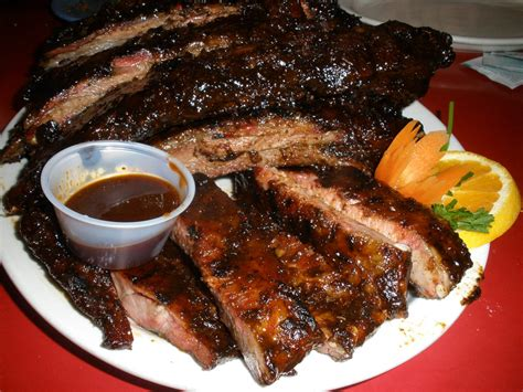 rack of ribs pigtrip net bbq review pete s hickory ribs revere ma