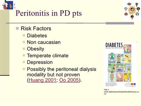 peritonitis  peritoneal dialysis patients