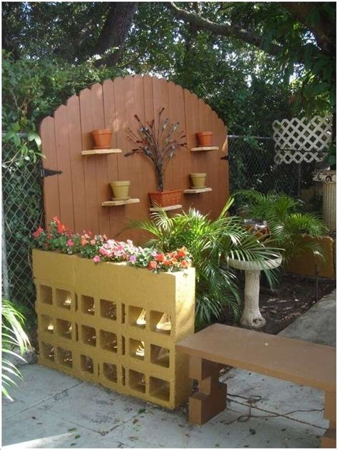 decorating ideas for cinder block walls 10 awesome ideas to design a cinder block garden