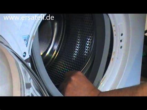 waschmaschine dichtung wechseln anleitung waschmaschine dichtung wechseln