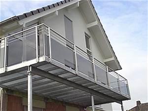 Balkongeländer Glas Anthrazit : schlosserei hoppe balkongel nder edelstahl ~ Michelbontemps.com Haus und Dekorationen