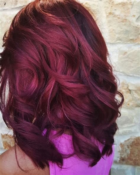 Burgundy Hairstyles by 36 Intensely Cool Mahogany Hair Color Ideas