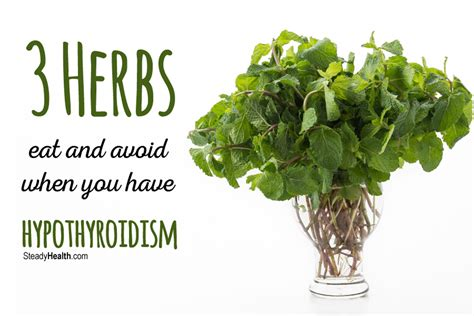 thyroid treatment   kitchen  herbs  eat