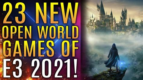 Top 23 NEW Open World Games of E3 2021 for PS5, Xbox ...