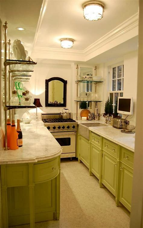 Decorating Ideas For Galley Kitchen by Top 25 Best Galley Kitchen Design Ideas On